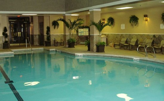 Doubletree Hotel Tulsa Downtown Indoor Pool