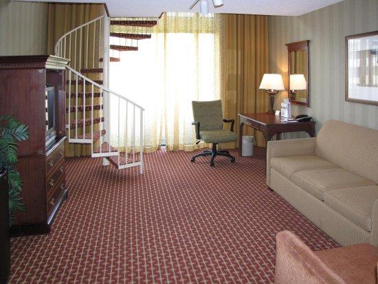 King Bi Level Suite Picture Of Doubletree By Hilton Hotel Atlanta Marietta Atlanta