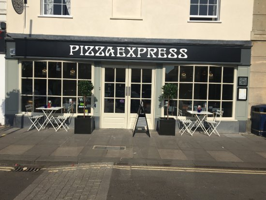 Pizza Express After Their Fabulous Transformation Picture