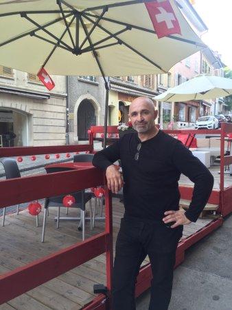 Porrentruy, Schweiz: Marco proprio et chef cuistot !