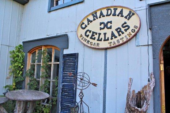 Milford, Canada: Vinegar tasting