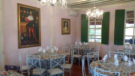 Ituverava, SP: Sala de degustação - interior