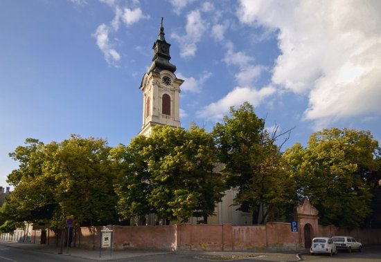 The Church of St John the Forerunner, Sombor,Serbia