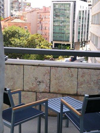 Eurostars Lisboa Parque: balcony