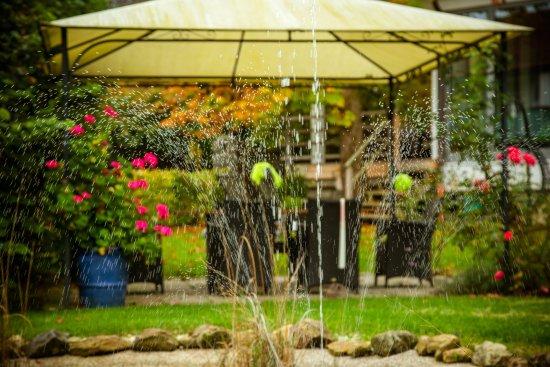 Hotel St. Florian : Garten