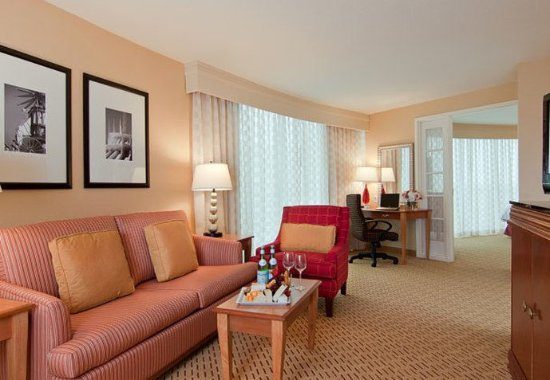 Anaheim Marriott Suites: Executive Suite - Living Area