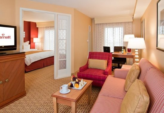 Anaheim Marriott Suites: King Suite