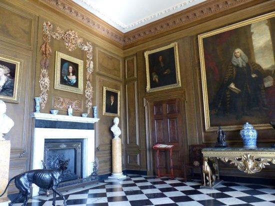 Belton House: Entrance Hall