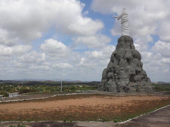 Christ The Redeemer : Estátua e vista parcial da cidade