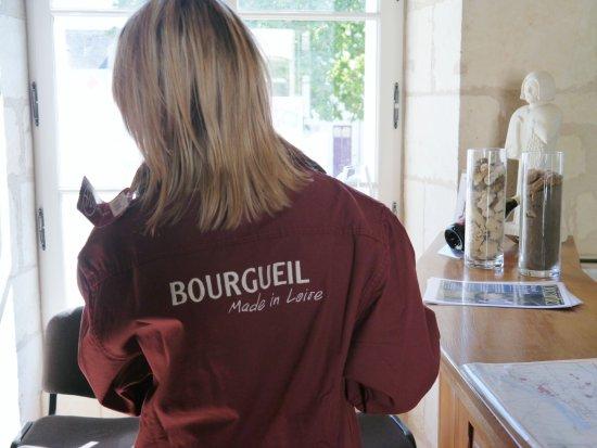 La vareuse Bourgueil !