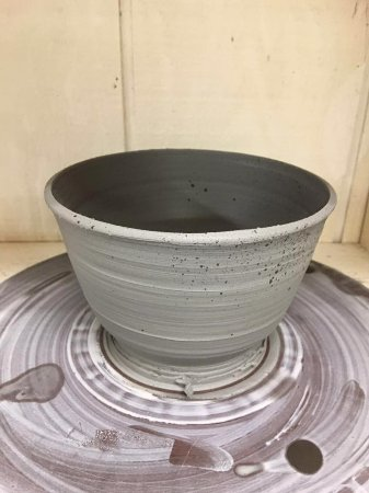 Sundance Resort: My friend made his bowl in the pottery class. She is an experienced potter, so results not typic