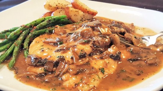Lake Orion, MI: Valentino's Chicken Marsala.
