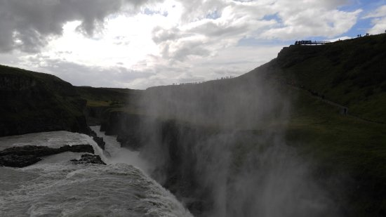 Iceland Horizon: Gullfoss Waterfalls