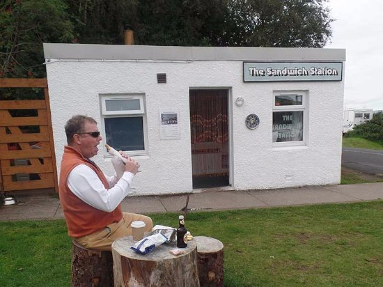Lochranza, UK: This may be the world's smallest restaurant but the flavors are huge