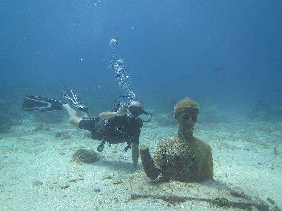 Bouillante, Guadalupe: Plongée site de Cousteau