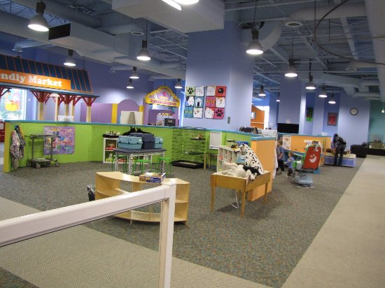 Oak Lawn, IL: 2nd floor of the Children's Museum