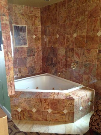 tiled hot tub, within sleeping area - Picture of Nob Hill Hotel, San ...