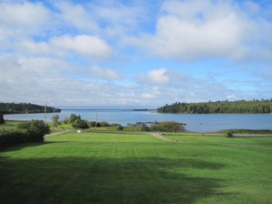 Richards Landing, Canadá: View from front porch