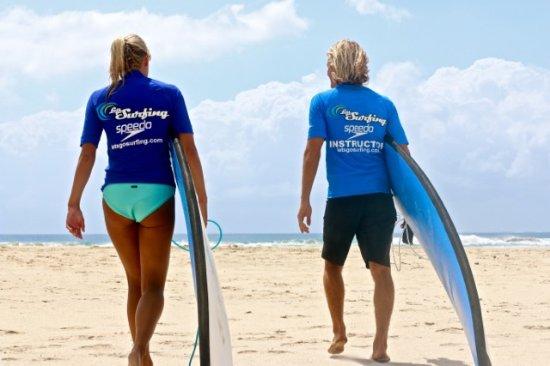 Lets Go Surfing Byron Bay: ready to surf byron