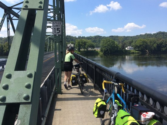 Crossing the Delaware from Frenchtown NJ to Uhlerstown PA