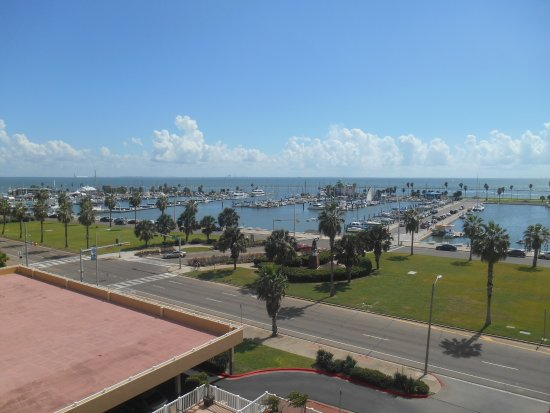 BEST WESTERN Corpus Christi: View from our room balcony.