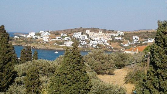 Batsi, Grécia: Taken from the terrace at breakfast