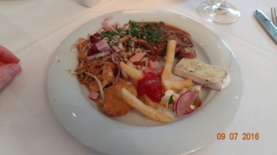 Seehotel Binz Therme Rugen: gutes Essen bei HP