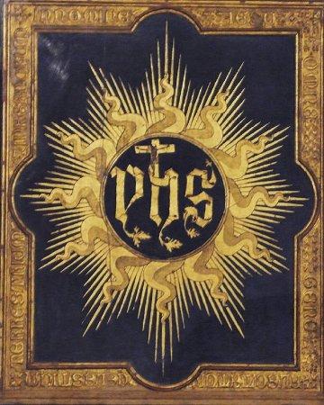 Chiesa di San Francesco : Monogramma di Cristo - Reliquia S.Bernardino da Siena - XV sec.