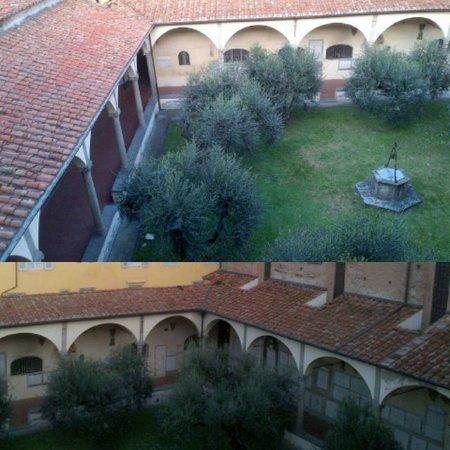 Chiesa di San Francesco : Il primo chiostro rinascimentale a Prato