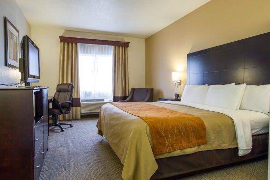 Comfort Inn & Suites : King Room