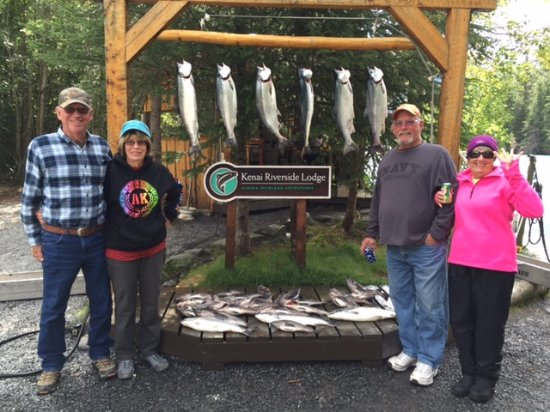 Kenai Riverside Lodge: Catch in the Bay
