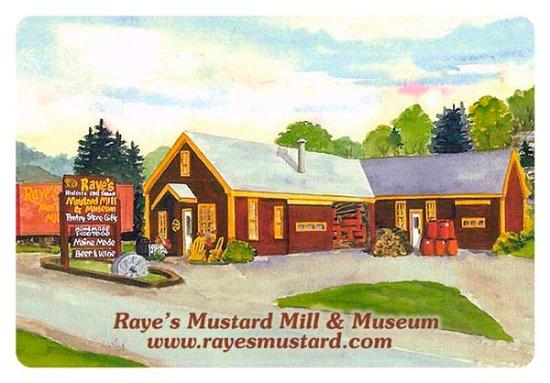 Raye's Mustard Mill Museum