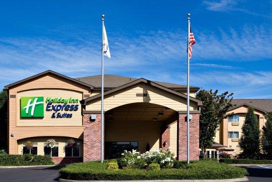 Springfield, Oregon: Hotel Entrance