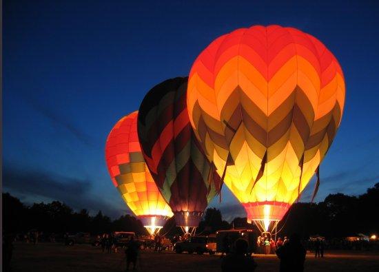 Solana Beach, Califórnia: Hot Air Ballooning