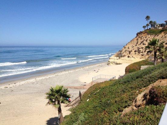 Solana Beach, Califórnia: Beautiful Fletcher Cove, just a short walk from the hotel.