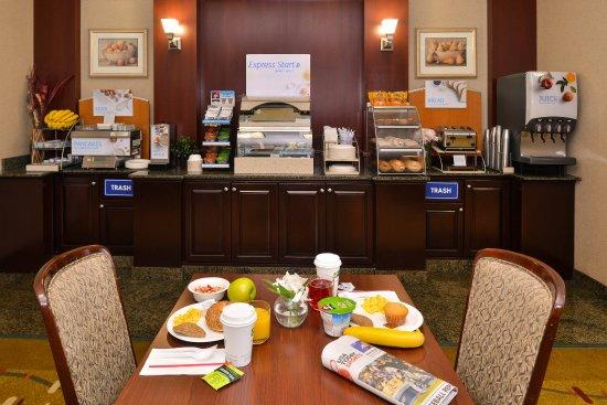 Albany, Oregón: Breakfast Bar