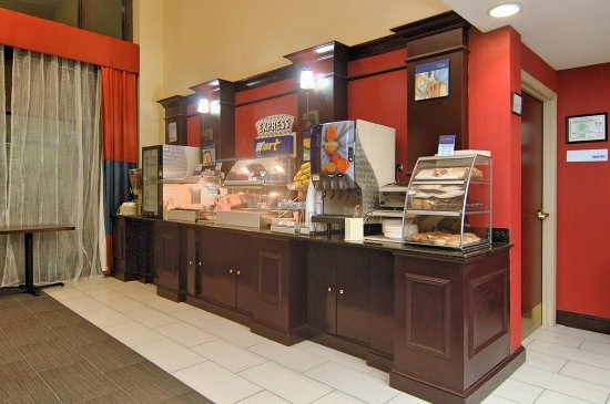 Holiday Inn Express & Suites Austin - Sunset Valley: Breakfast Bar