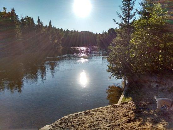 Mio, MI: Au Sable River landing