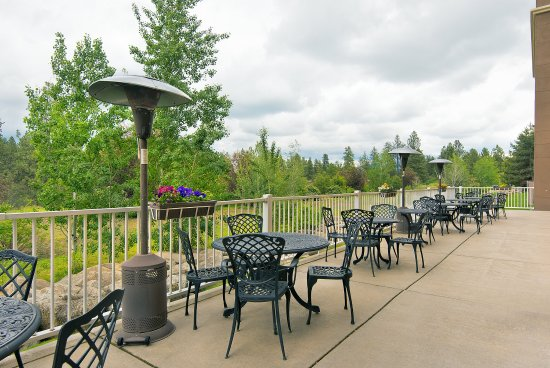 Spokane Valley, WA: Patio