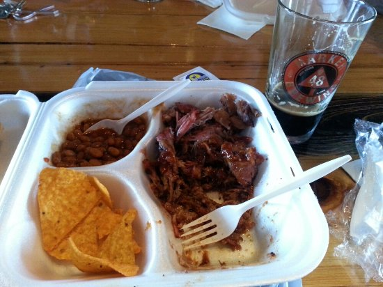Brooksville, Флорида: Pulled Pork and Baked Beans