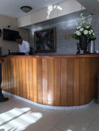 San Juan de la Maguana, Dominicaanse Republiek: Front Desk