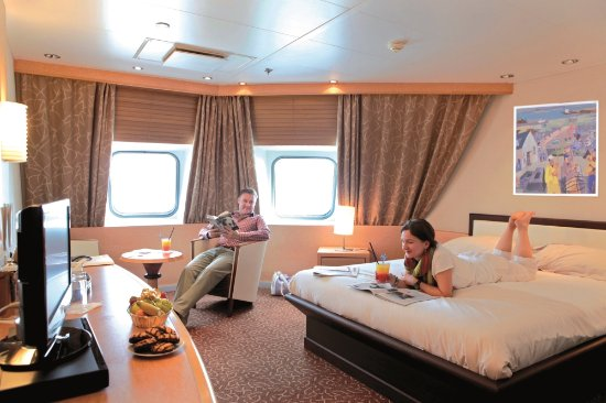 Brittany Ferries Deluxe Cabin On Cap Finistere Picture