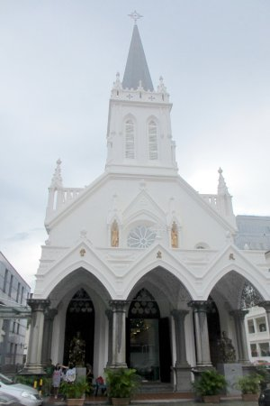 Church of Saints Peter and Paul: Exterior of Church, after the renovation