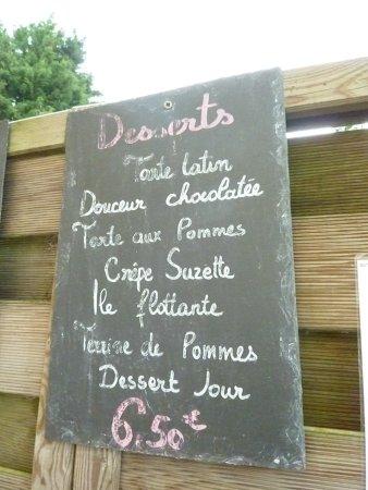 Saint-Gatien-des-Bois, Frankrig: un petit aperçu des desserts