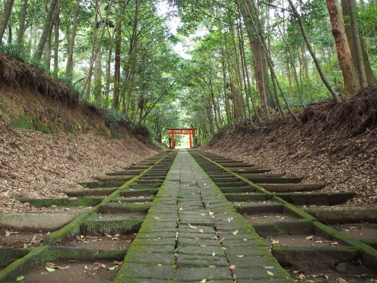 Kobayashi, Japón: 霧島岑神社参道階段