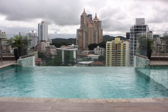 Best Western Plus Panama Zen Hotel Swimming Pool At Top Of The View
