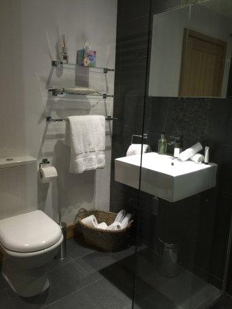 Walsingham, UK: En-suite shower room