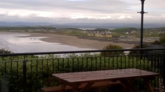Rossnowlagh, Irlande : View from near by restaurant