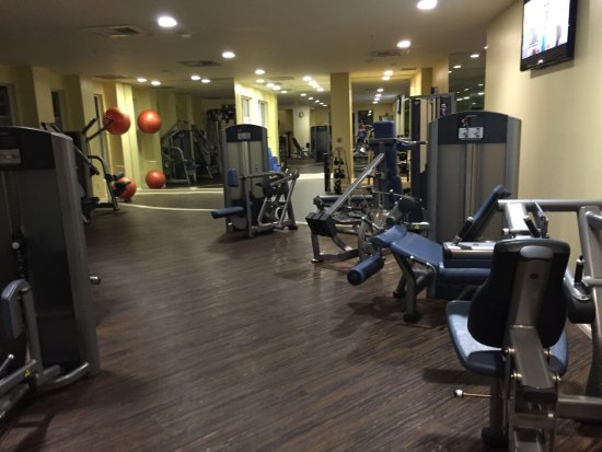 Weights Area In Gym Picture Of Laguna Cliffs Marriott Resort Spa