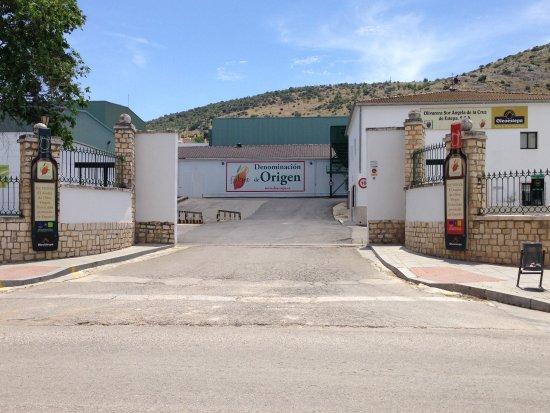 Uma das cooperativas de Estepa, Andaluzia, Espanha.